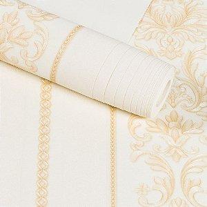 Papel De Parede Dekor Importado Vinílico Lavável Textura Em Relevo 8061