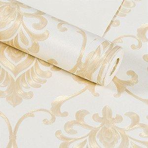 Papel De Parede Dekor Importado Vinílico Lavável Textura Em Relevo 8082