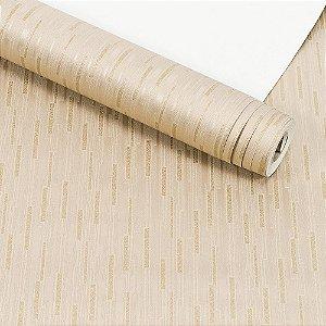 Papel de Parede Importado Vinílico Lavável Textura em Relevo Geométrico 5865