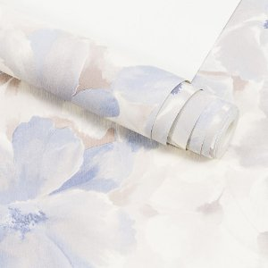Papel de Parede Importado Vinílico Lavável Textura em Relevo Floral 90206