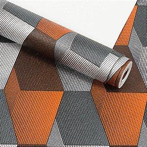 Papel de Parede Dekor 3D Importado Vinílico Lavável Textura em Relevo 33031