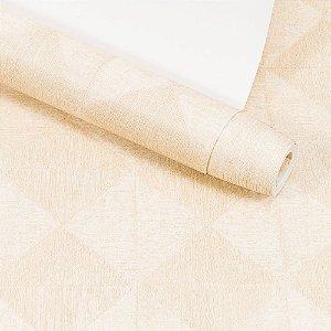 Papel de Parede Dekor Importado Lavável Textura Em Relevo Geométrico 90061