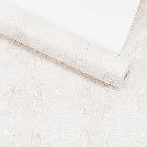 Papel de Parede Dekor Importado Lavável Textura Em Relevo Geométrico 90063