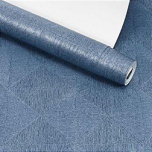 Papel de Parede Dekor Importado Lavável Textura Em Relevo Geométrico 90066