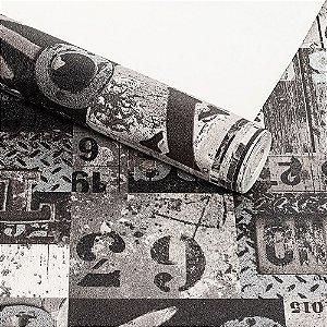 Papel de Parede Lavável Vinílico Dekor 35124 Importado 53cm x 9,5m
