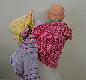 Sling de Criança Rosa (para bonecas)