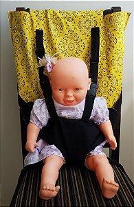Cadeira de Pano Bandana Amarela