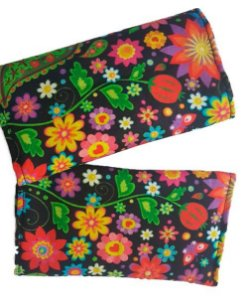 Kit Protetor de alças Flores (do Jeans)