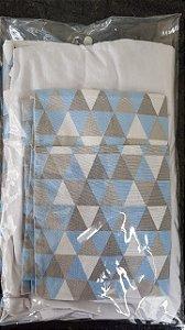 kit lençol de berço Trii Cinza