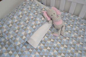 kit lençol de berço (Padrão Americano), Trii Cinza