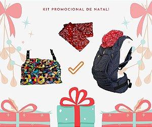 Kit Promo Ergo: ErgoSlingaê (Cores a escolher) + Capuz Extra + Protetores