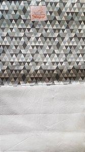 (M) FastWrap Triângulos Cinza