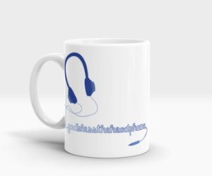 Caneca Headphone - God Bless the Headphone
