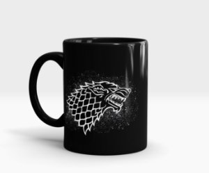 Caneca Stark - Game of Thrones (GoT)