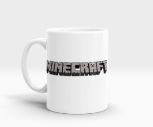 Caneca Minecraft - Creeper