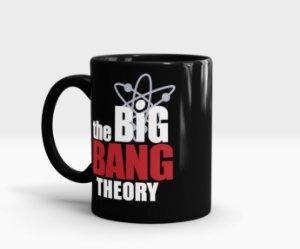 Caneca The Big Bang Theory - TBBT