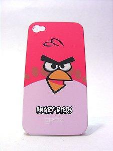 Case para iPhone 4 - Angry Bird vermelho