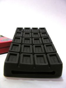 Case Chocolate para iPhone 4 / 4S (silicone)