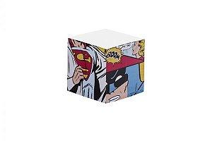 Bloco de anotaçăo Batman e Super Homem - DC Comics