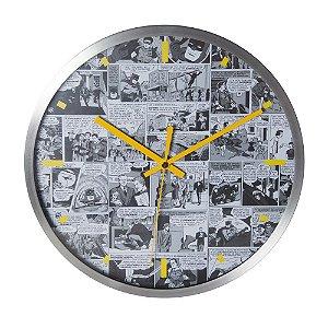 Relógio de parede de metal Quadrinhos DC Comics