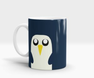 Caneca Gunter - Adventure Time (Hora de Aventura)