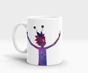 Caneca Peace - Rick & Morty