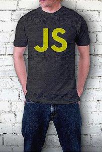 Camiseta JS (cinza)
