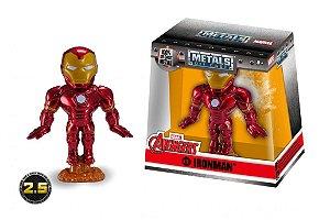 Boneco Iron Man Homem De Ferro Metal Die Cast Original
