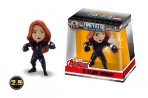 Boneco Viúva Negra Avengers Marvel Metal Die Cast Original