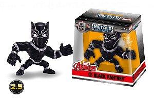 Boneco Pantera Negra Avengers Marvel Metal DIE CAST Original