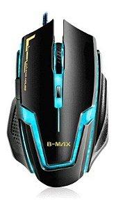 Mouse Gamer BMAX A9 Gaming RGB 3200 DPI 6 Botões PRO