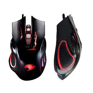 Mouse Gamer GFIRE MOGT2 RGB 2400 DPI 6 Botões PRO