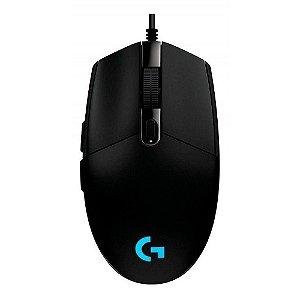 Mouse Gamer LOGITECH G203 8000 DPI 6 Botões PRO
