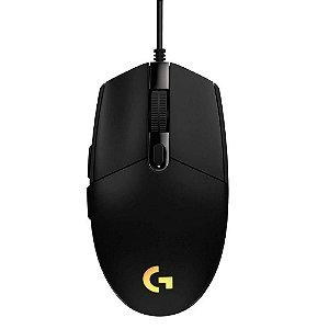 Mouse Gamer LOGITECH G203 RGB Lightsync 8000 DPI 6 Botões PRO