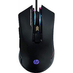 Mouse Gamer HP G360 RGB 6200 DPI 6 Botões PRO