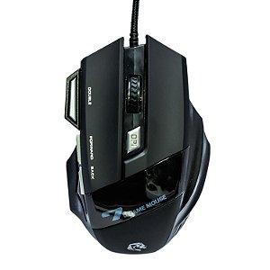 Mouse Gamer HAYOM MU2909 RGB 3200 DPI 7 Botões PRO