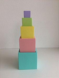 Cubos de Encaixe Candy