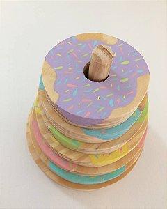 Torre de Encaixe Donuts
