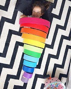 Arco-íris Waldorf 12 peças colorido