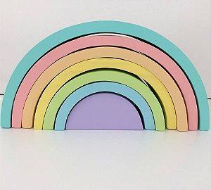 Arco-íris Waldorf 7 peças candy