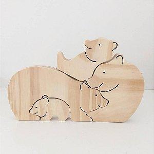 Família Urso quebra-cabeça