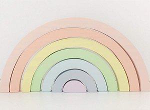Arco-íris Pastel