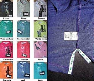 24 Polos Luxo várias marcas + FRETE GRÁTIS PAC