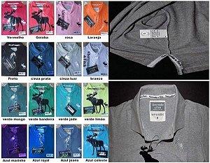 48 Polos Luxo várias marcas + FRETE GRÁTIS PAC
