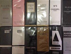 10 Perfume Importado varias Marcas 50ml