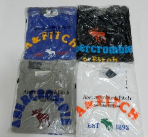 Kit 10 CAMISETAS ORIGINAIS ABERCROMBIE E HOLLISTER