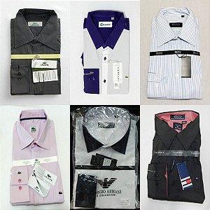 Camisa Social Masculina - Kit 6 Peças