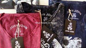 Camiseta John john Kit 10 Peças