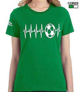 Camiseta Feminina Coração Alviverde