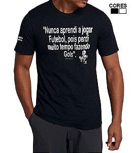 Camiseta Masculina frase Dadá Maravilha Estilo Boleiro